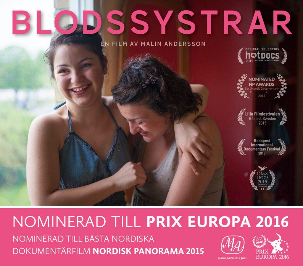 Blodssystrar är Prix Europa nominerad i kategorin IRIS